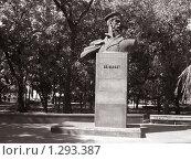 Купить «Украина, г. Бердянск, памятник П.П. Шмидту», фото № 1293387, снято 9 сентября 2009 г. (c) Галина  Горбунова / Фотобанк Лори