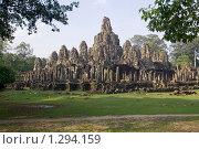 Храмовый комплекс Ангкор. Храм Байон. Камбоджа. Стоковое фото, фотограф Daria / Фотобанк Лори