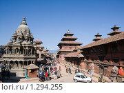 Купить «Непал. Катманду. Патан. Площадь Дурбар.», фото № 1294255, снято 10 ноября 2009 г. (c) Михаил Ворожцов / Фотобанк Лори