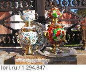 Два самовара (2009 год). Редакционное фото, фотограф Дульнев Михаил / Фотобанк Лори