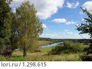 Купить «Река Угра в сентябре», фото № 1298615, снято 6 сентября 2009 г. (c) Елена Ильина / Фотобанк Лори