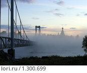 Мост через реку Кемь. Стоковое фото, фотограф Александр Лазутин / Фотобанк Лори