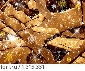 Купить «Праздничный фон для Нового Года и Рождества», фото № 1315331, снято 23 декабря 2009 г. (c) Татьяна Федулова / Фотобанк Лори