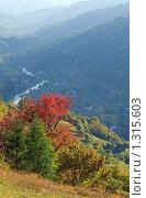 Купить «Карпатские горы», фото № 1315603, снято 4 октября 2009 г. (c) Юрий Брыкайло / Фотобанк Лори