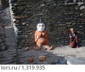 Терракотовая женщина-идол (2008 год). Редакционное фото, фотограф Павлов Борис / Фотобанк Лори