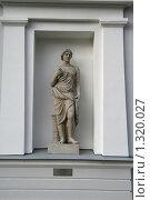 Купить «Античная скульптура Мелеагр», фото № 1320027, снято 29 октября 2009 г. (c) Александр Секретарев / Фотобанк Лори