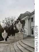 Купить «Елагин дворец», фото № 1320079, снято 29 октября 2009 г. (c) Александр Секретарев / Фотобанк Лори