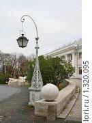 Купить «Елагин дворец», фото № 1320095, снято 29 октября 2009 г. (c) Александр Секретарев / Фотобанк Лори