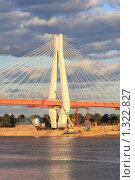 Купить «Новый мост через Оку в Муроме», фото № 1322827, снято 3 октября 2009 г. (c) Святослав Корнев / Фотобанк Лори