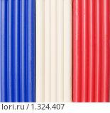 Купить «Флаг Франции из пластилина», фото № 1324407, снято 21 декабря 2009 г. (c) Валерий Лифонтов / Фотобанк Лори