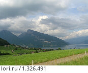 Горный пейзаж (2005 год). Стоковое фото, фотограф Жанна Яцук / Фотобанк Лори