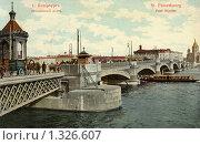 Купить «Николаевский мост. Санкт-Петербург», фото № 1326607, снято 27 мая 2019 г. (c) Юрий Кобзев / Фотобанк Лори