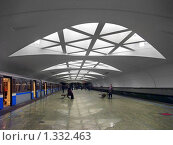 "Купить «Станция метро ""Строгино"", Москва», фото № 1332463, снято 27 декабря 2009 г. (c) Fro / Фотобанк Лори"