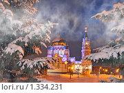 Купить «Успенский собор», фото № 1334231, снято 5 декабря 2009 г. (c) ВЛАДИМИР КУДРИНСКИЙ / Фотобанк Лори