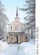 Купить «Знаменская церковь в Царском Селе», фото № 1335963, снято 1 января 2010 г. (c) Виктор Карасев / Фотобанк Лори