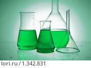 Купить «Химические колбы», фото № 1342831, снято 8 февраля 2009 г. (c) Наталия Евмененко / Фотобанк Лори