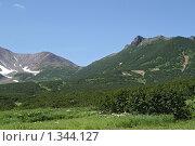 Купить «Пиначевский перевал, Камчатка», фото № 1344127, снято 10 августа 2006 г. (c) Кузнецов Андрей / Фотобанк Лори