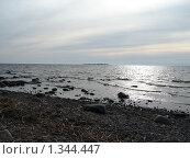 Остров на горизонте. Стоковое фото, фотограф Константин Григорьев / Фотобанк Лори