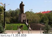 Купить «Памятник Абаю Кунанбаеву в Караганде», фото № 1351859, снято 7 сентября 2009 г. (c) Михаил Николаев / Фотобанк Лори