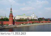 Купить «Москва. Кремль (май 2009)», фото № 1353263, снято 5 мая 2009 г. (c) Владимир Тарасов / Фотобанк Лори