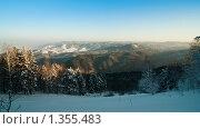Белокуриха, вид с горы Церковка. Стоковое фото, фотограф Кельс Андрей / Фотобанк Лори