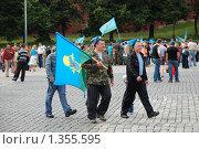 Купить «День ВДВ. Десантники», эксклюзивное фото № 1355595, снято 2 августа 2009 г. (c) lana1501 / Фотобанк Лори