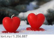 Купить «Два сердца», фото № 1356887, снято 1 января 2010 г. (c) Старостин Сергей / Фотобанк Лори