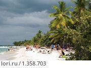 Купить «Остров Саона. Доминиканская республика», фото № 1358703, снято 4 января 2010 г. (c) Екатерина Овсянникова / Фотобанк Лори