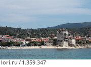 Купить «Город Уранополис, Греция», фото № 1359347, снято 10 июля 2009 г. (c) Игорь Семенов / Фотобанк Лори
