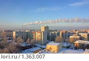Купить «Сыктывкар. Панорама города», фото № 1363007, снято 11 января 2010 г. (c) Екатерина Тарасенкова / Фотобанк Лори