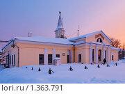 Вокзал города Североуральск (2010 год). Стоковое фото, фотограф Андрей Мелкозеров / Фотобанк Лори