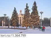 "Купить «Павильон ""Армения"" на ВВЦ (ВДНХ)», эксклюзивное фото № 1364799, снято 10 января 2010 г. (c) Алёшина Оксана / Фотобанк Лори"