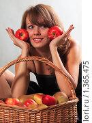 Купить «Про яблоки», фото № 1365475, снято 11 декабря 2009 г. (c) Ева Монт / Фотобанк Лори