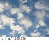 Облака. Небо голубое. Стоковое фото, фотограф Нина Солнцева / Фотобанк Лори