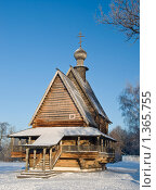 Купить «Деревянная церковь Николая, Суздаль», фото № 1365755, снято 10 января 2010 г. (c) Анфимов Леонид / Фотобанк Лори