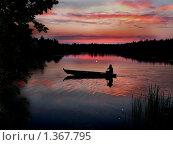 Рыбак. Стоковое фото, фотограф Сергей Зимушин / Фотобанк Лори