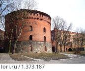 Купить «Башня Кронпринц в Калининграде», фото № 1373187, снято 1 февраля 2009 г. (c) Наталья Лабуз / Фотобанк Лори