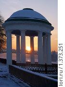 Купить «Москва. Закат.», фото № 1373251, снято 30 ноября 2004 г. (c) Владимир Ременец / Фотобанк Лори