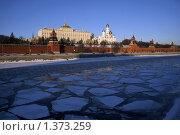 Купить «Москва. Кремль.», фото № 1373259, снято 12 января 2010 г. (c) Владимир Ременец / Фотобанк Лори