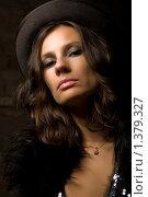 Портрет девушки в шляпе. Стоковое фото, фотограф Куршубадзе Нелли / Фотобанк Лори