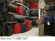 Купить «Дорожные сумки и чемоданы», фото № 1380167, снято 23 октября 2008 г. (c) Антон Алябьев / Фотобанк Лори