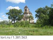 Старая разрушенная церковь. Стоковое фото, фотограф Мария Бойченко / Фотобанк Лори