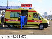 Карета скорой помощи (2009 год). Редакционное фото, фотограф Евгений Яковлев / Фотобанк Лори