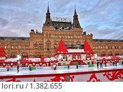ГУМ-Каток на Красной площади в Москве (2010 год). Редакционное фото, фотограф Владимир Сергеев / Фотобанк Лори
