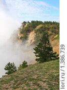 Туман в горах Ай-Петри. Крым, Украина (2009 год). Стоковое фото, фотограф Юрий Брыкайло / Фотобанк Лори