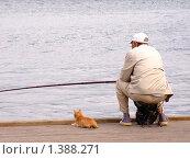 Рыболовы. Стоковое фото, фотограф Андрей Борисов / Фотобанк Лори