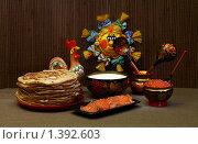 Русская кухня. Масленица. Стоковое фото, фотограф Марина Сапрунова / Фотобанк Лори
