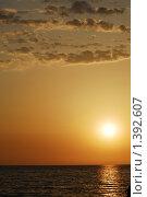 Облачный закат. Стоковое фото, фотограф Лотков Лель / Фотобанк Лори