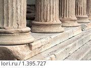 Античные колонны (2010 год). Стоковое фото, фотограф Галина Афанасьева / Фотобанк Лори