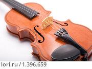Скрипка на белом фоне. Стоковое фото, фотограф Алексей Калашников / Фотобанк Лори